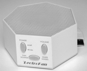 LectroFan Máquina de ruído branco Foto do site misophoniainstitute.org